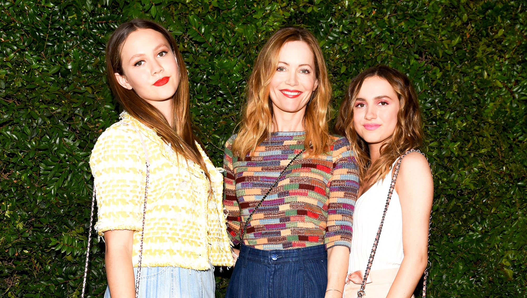 Leslie Mann, Iris Apatow and Maude Apatow