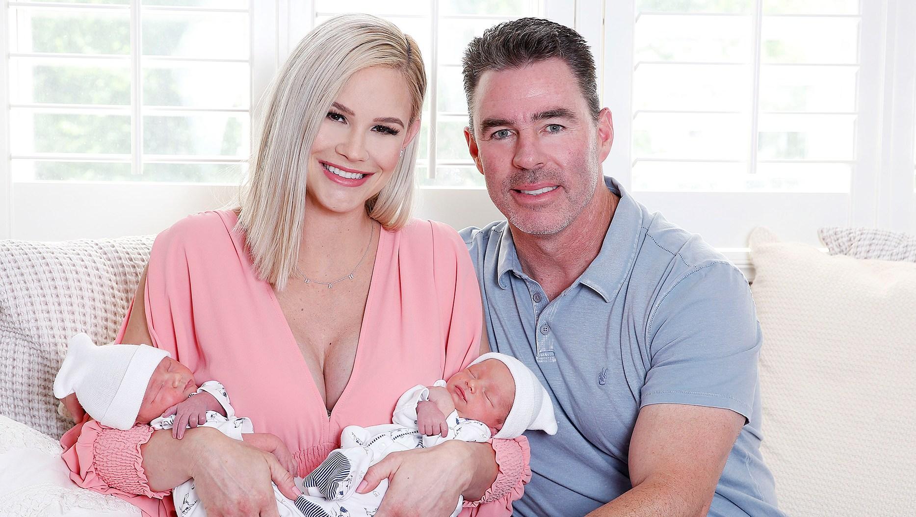 Meghan King Edmonds twins Hayes Hart Aspen Jim Edmonds