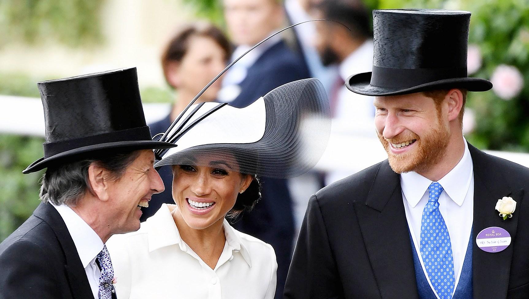 John Warren Duchess Meghan Markle Prince Harry Royal Ascot Day 1