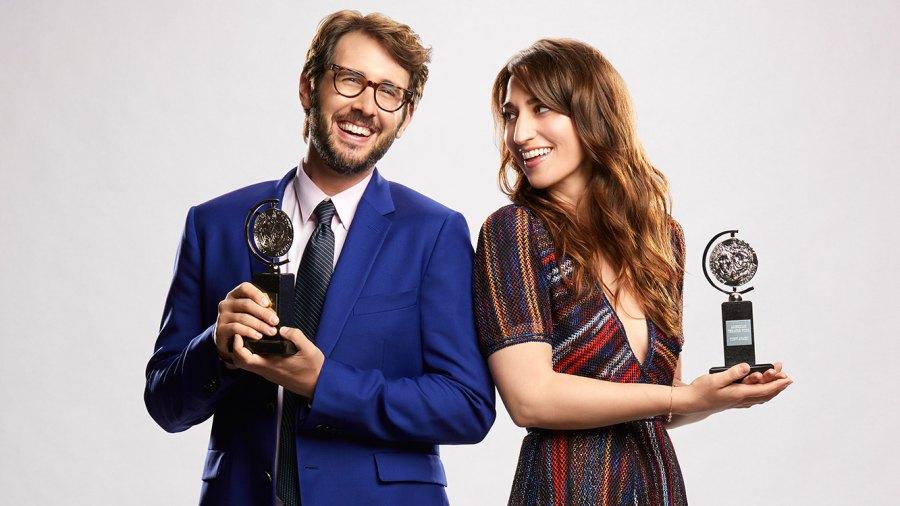 Josh Groban and Sara Bareilles will host THE 72nd ANNUAL TONY AWARDS.