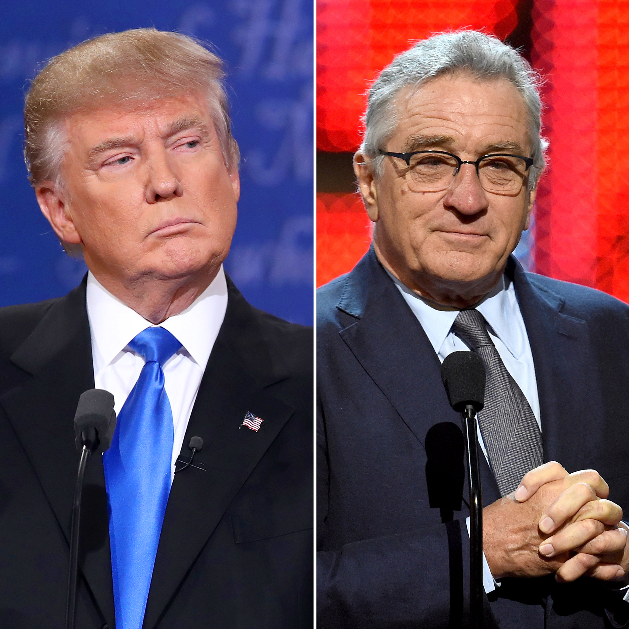 Donald Trump and Robert DeNiro