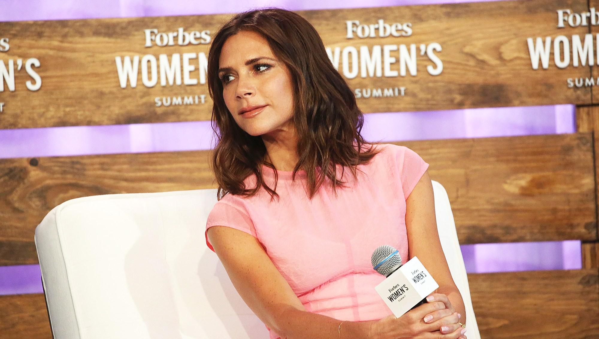 Victoria Beckham Forbes Women's Summit Split Rumors
