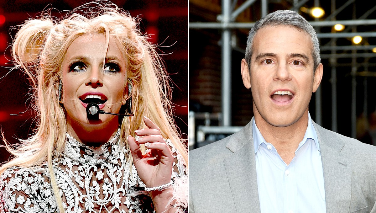 Britney Spears Appears To Forget Andy Cohen S Name On Stage