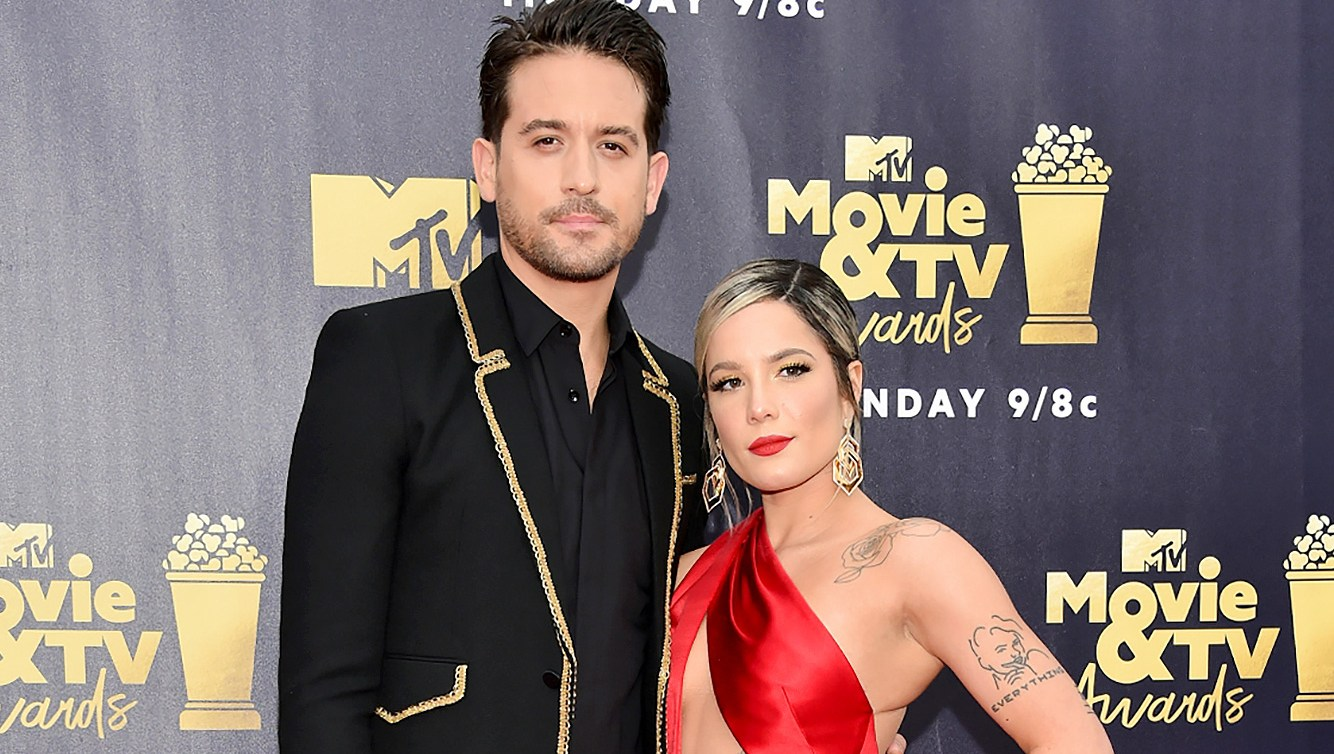 G-Eazy, Halsey, Instagram, Comment, Breakup