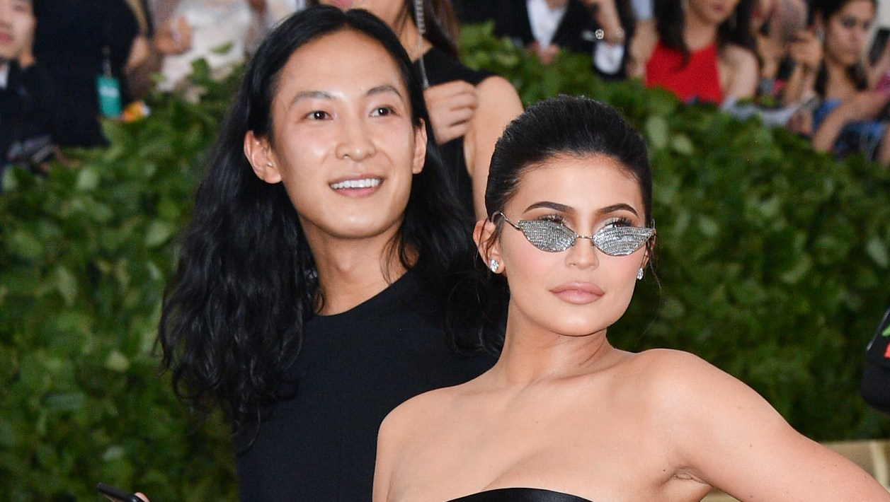 kylie jenner and alexander wang at met gala