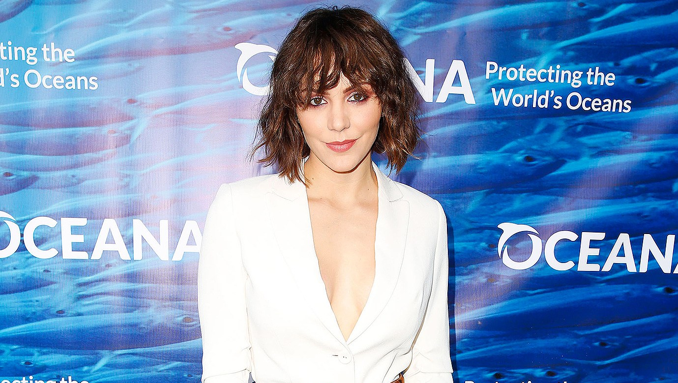 Katharine Mcphee Unveils Her En Ement Ring Last Thing I Showed My Dad Before Hed