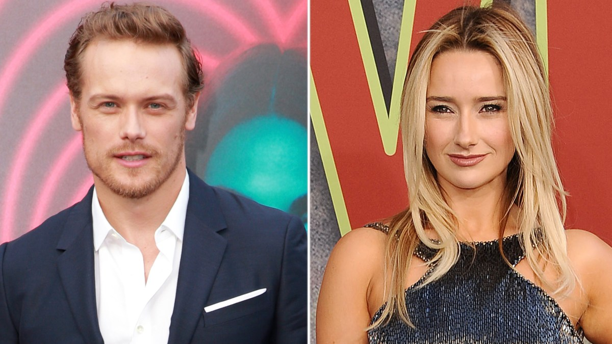 Outlander's Sam Heughan Is Dating Actress Amy Shiels