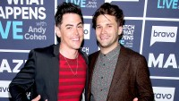 Tom Sandoval and Tom Schwartz