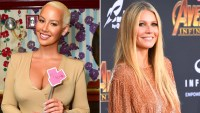 Amber Rose and Gwyneth Paltrow good hair