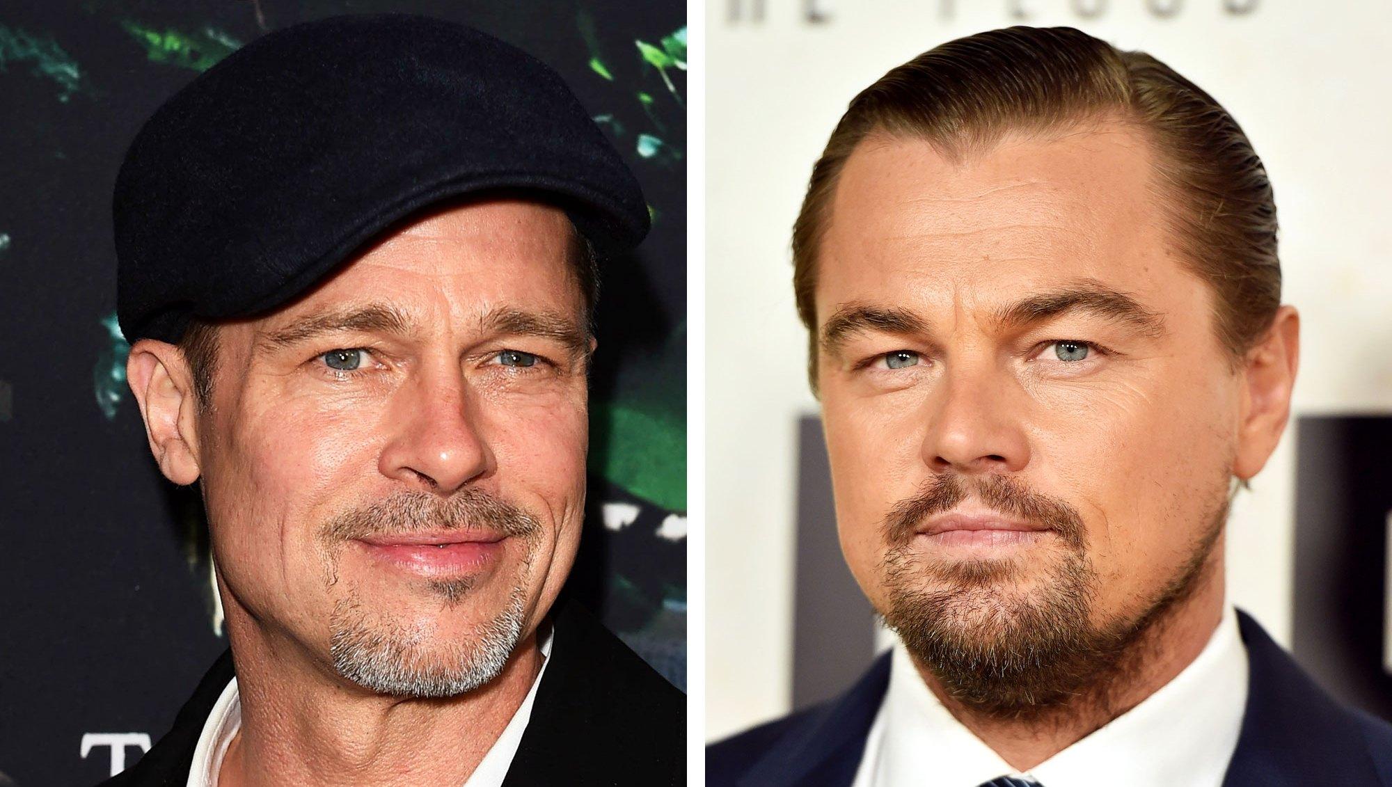 Brad Pitt Leonardo Dicaprio brokeback mountain
