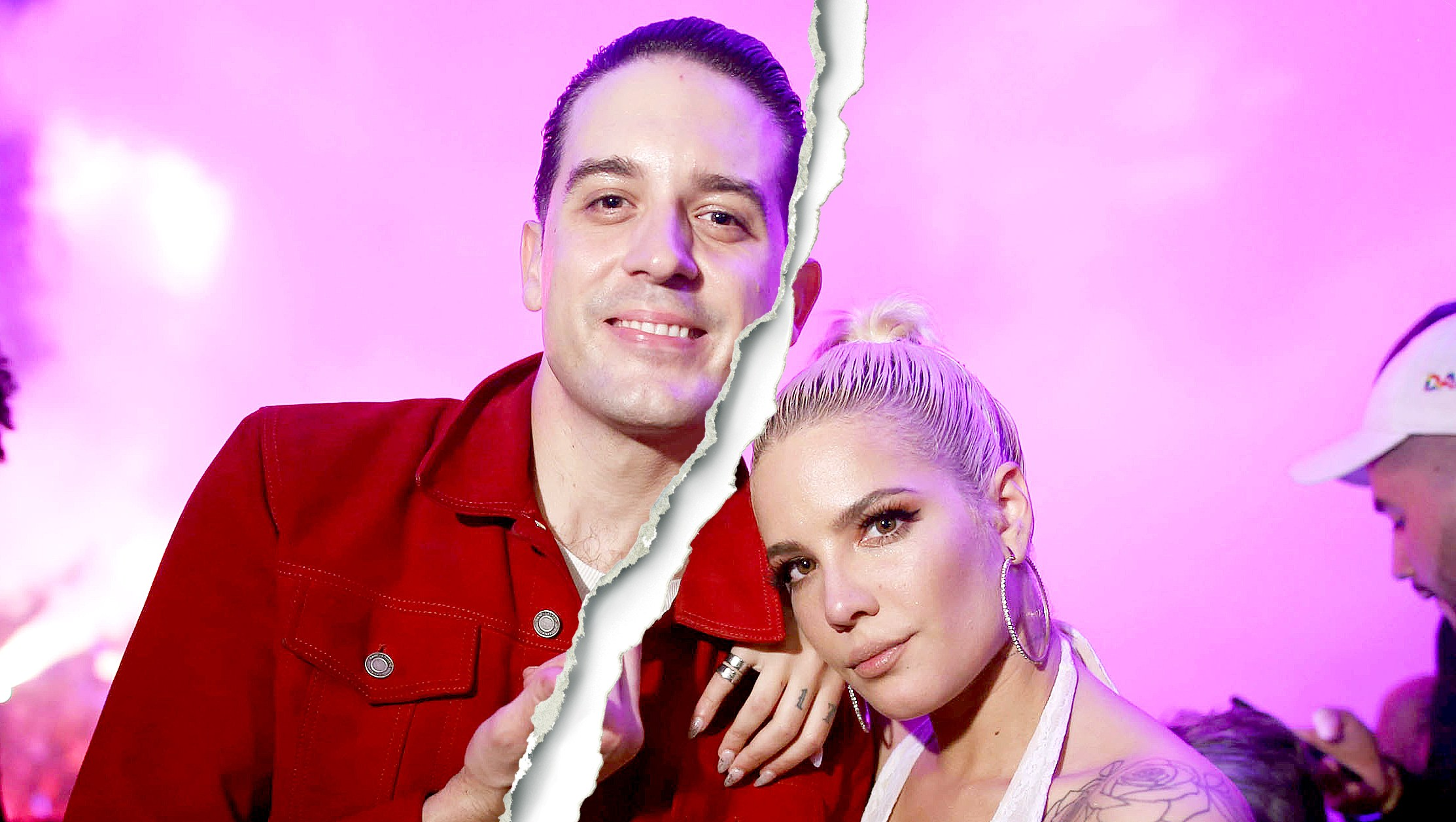 Image result for halsey and g eazy