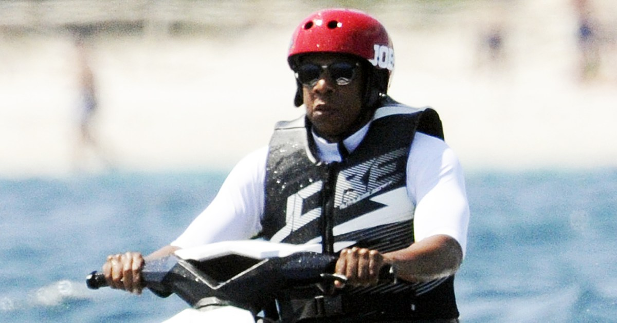 Jay Z Riding A Jet Ski With A Helmet Is A Meme Now Reactions