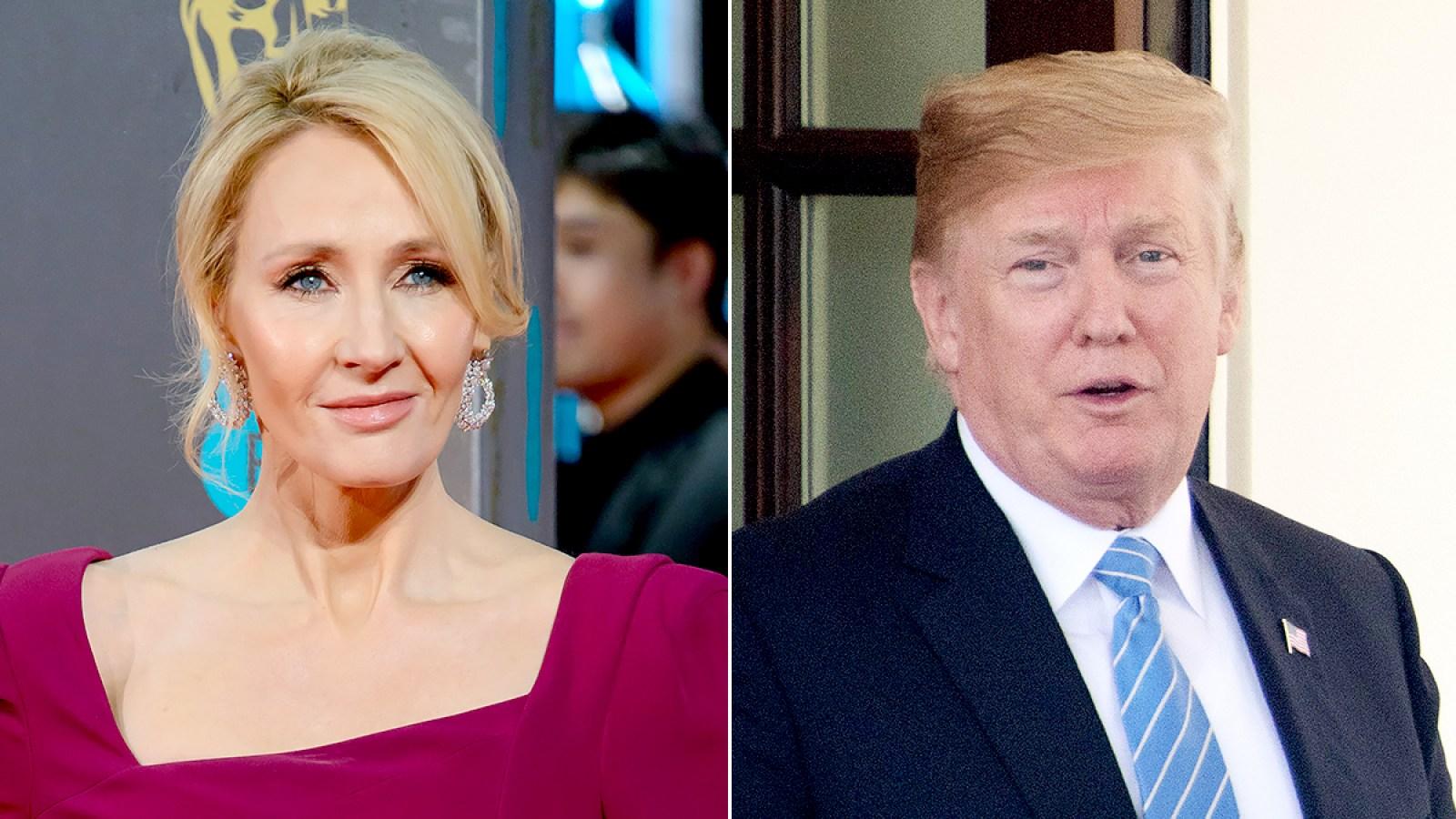 J K  Rowling, Merriam-Webster Troll Donald Trump Over Tweet
