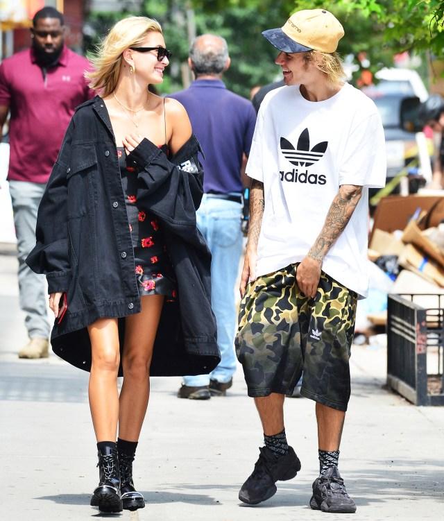 Hailey Baldwin Justin Bieber Make Out Lunch Date