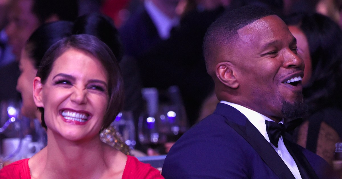 Katie Holmes, Jamie Foxx Work Out Together in Atlanta: Pic