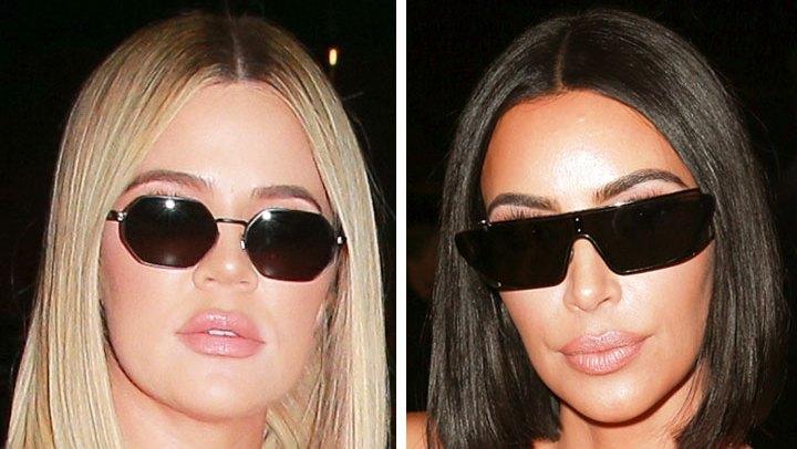 Kim And Khloe Kardashian Make The Bob Haircut A Summer 2018 Trend