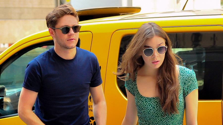 Niall Horan and Hailee Steinfeld spotted out shopping