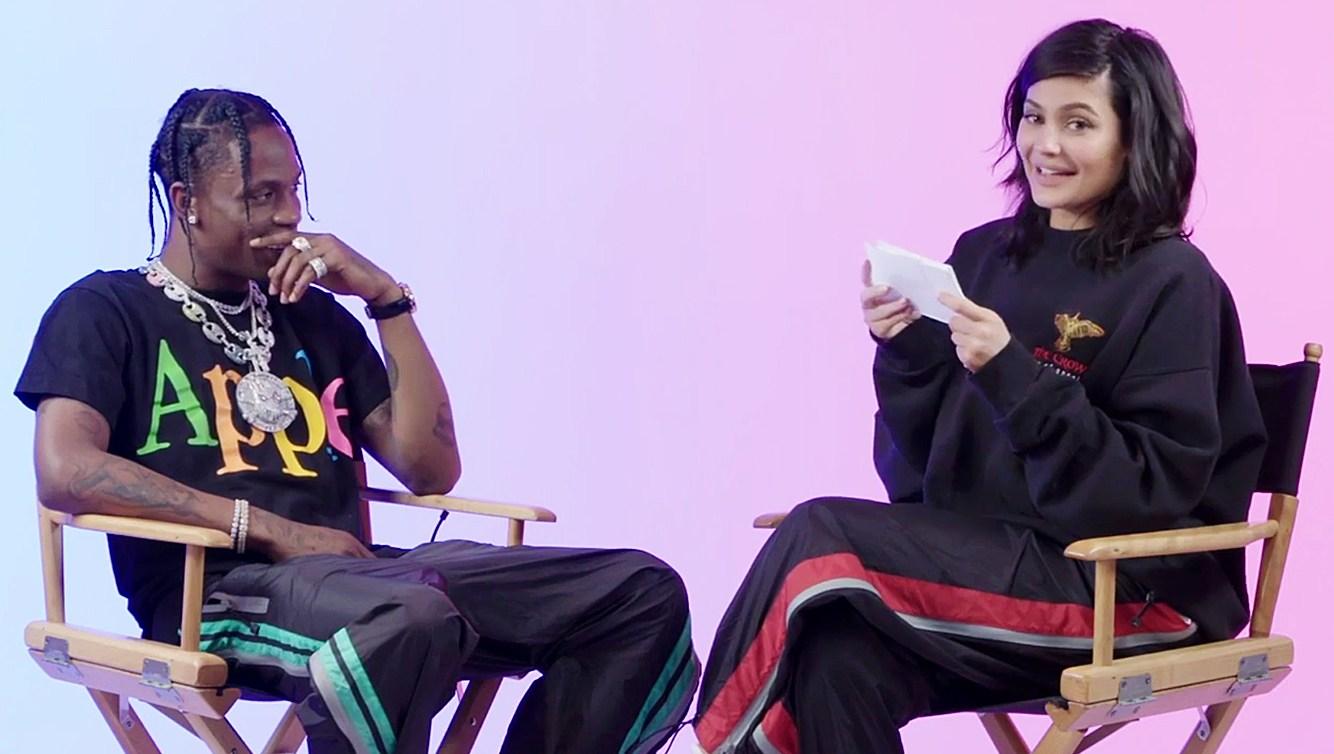 Travis Scott Kylie Jenner GQ Question