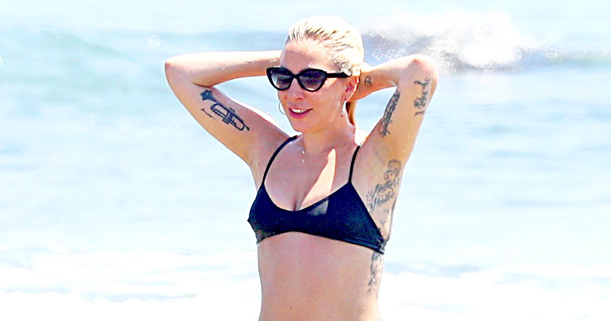 Improbable. Lady gaga tiny bikini