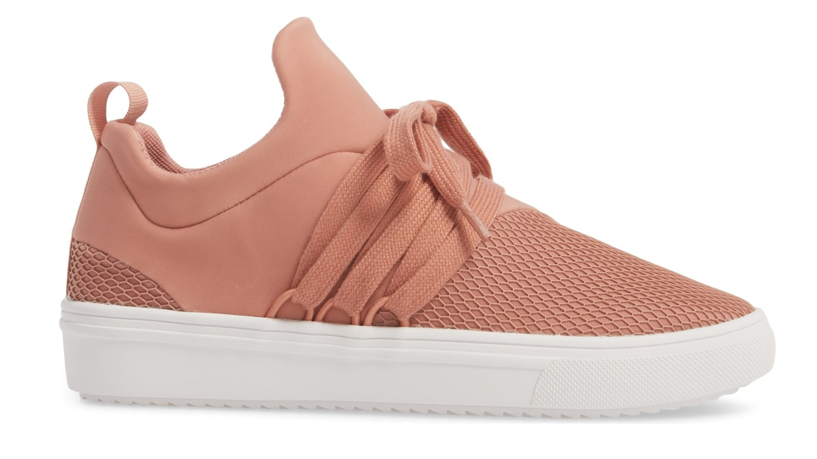 cc6e6a423bd These Comfy Steve Madden Sneakers Are Flying Off the Nordstrom Shelves