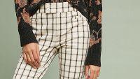 anthropologie slim trousers