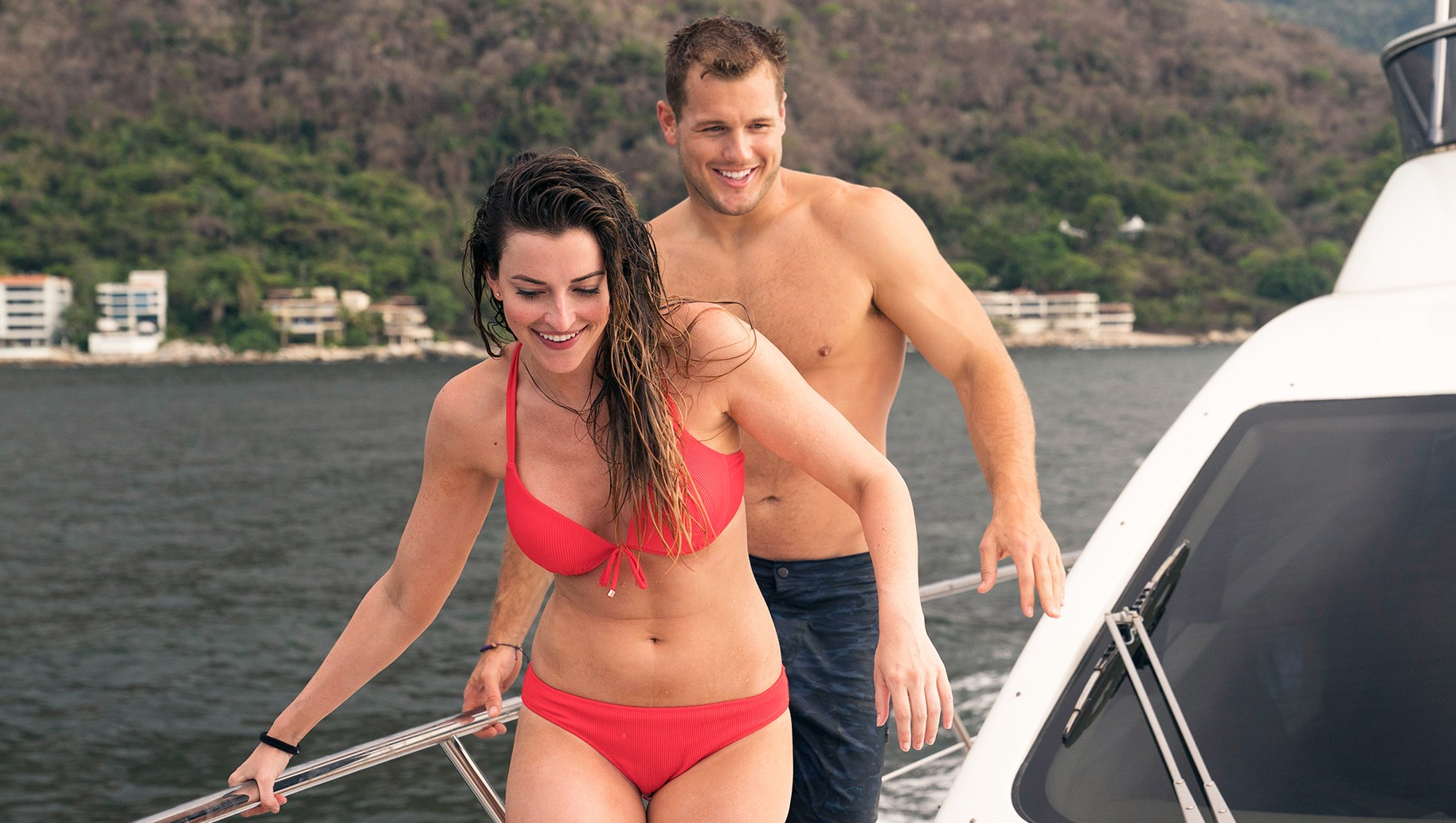 Bachelor in Paradise, Episode 501. Tia and Colton.