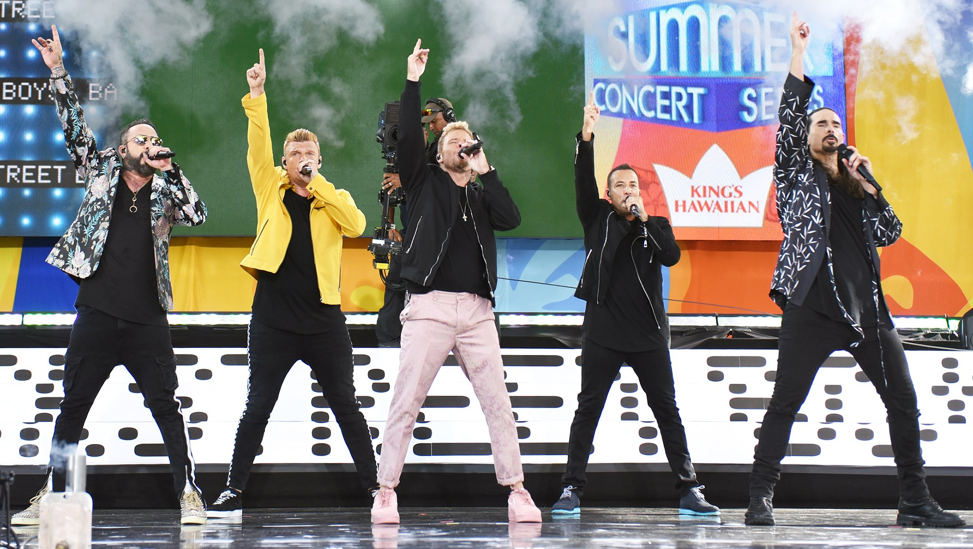 Backstreet Boys Forced To Cancel Concert After Storm