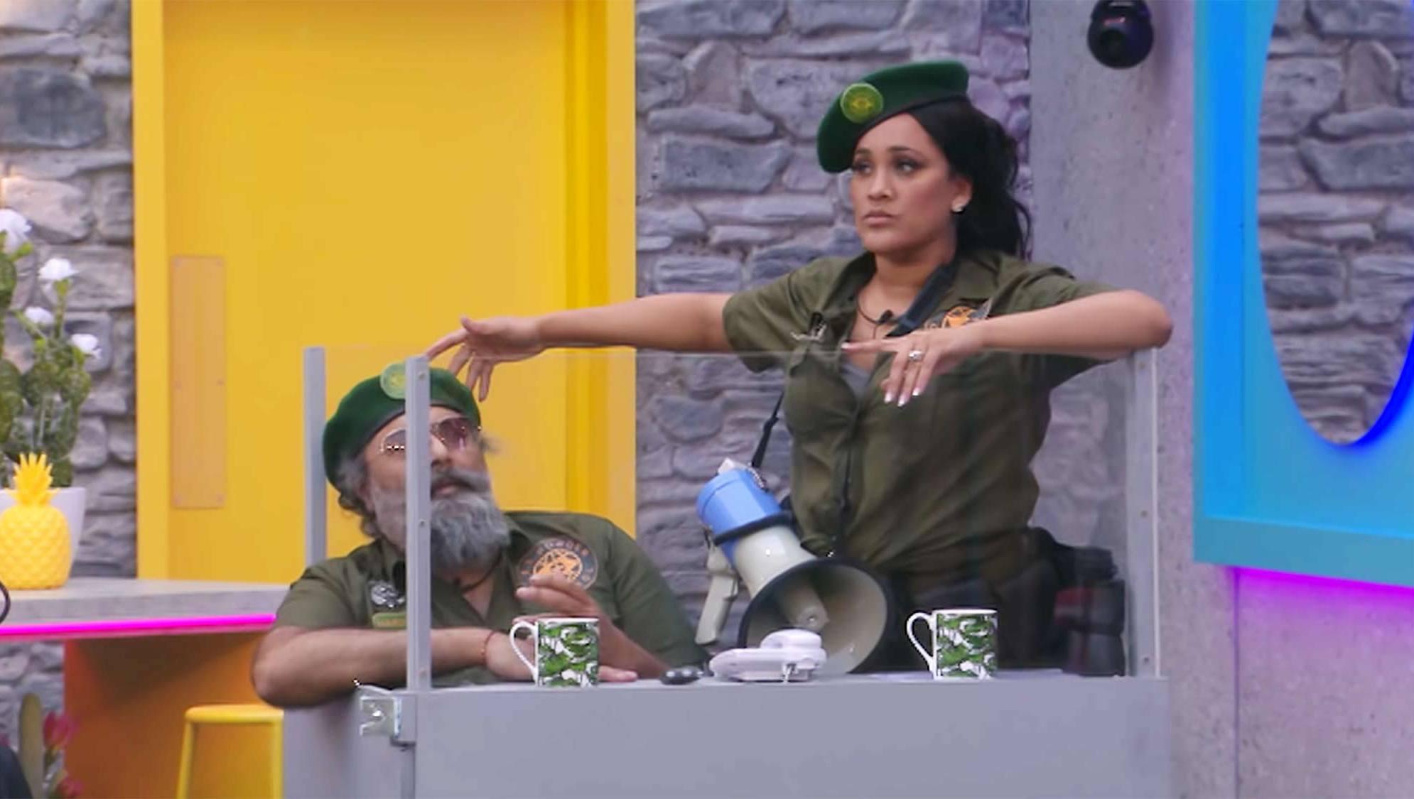 Contestants on 'Celebrity Big Brother UK'