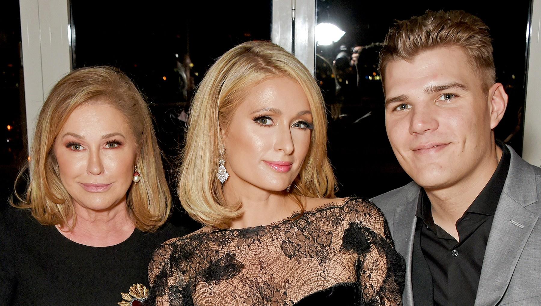 Kathy-Hilton,-Paris-Hilton-and-Chris-Zylka