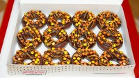 Krispy Kreme Reese's Outrageous Doughnut