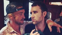 Tom Felton Matthew Lewis Harry Potter Reunion