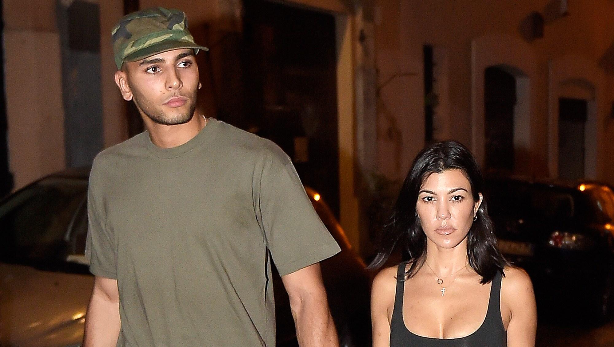 Younes Bendjima Denies Kourtney Kardashian Rebound