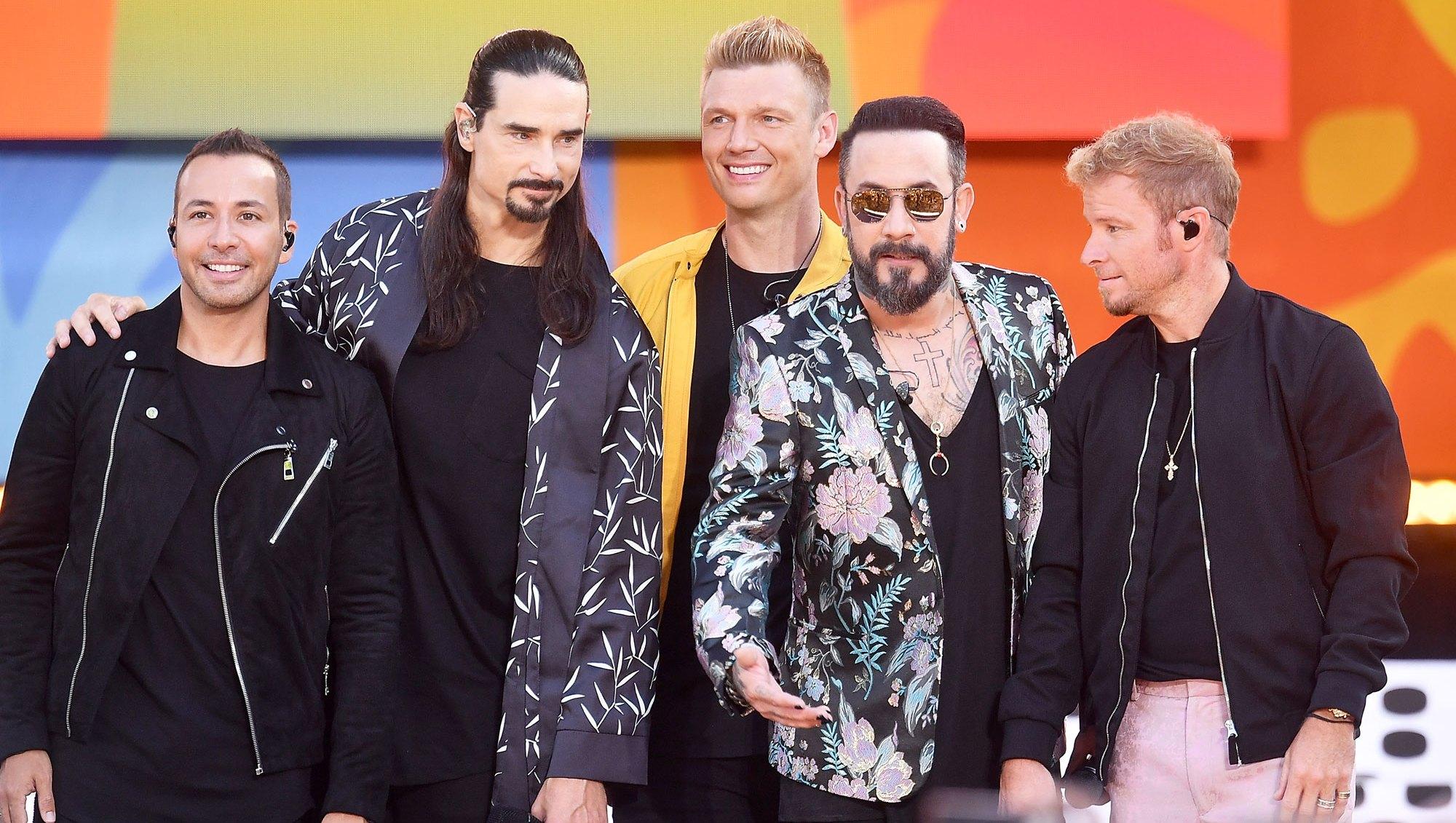 Vmas 2018 Backstreet Boys Perform Don T Go Breaking My Heart