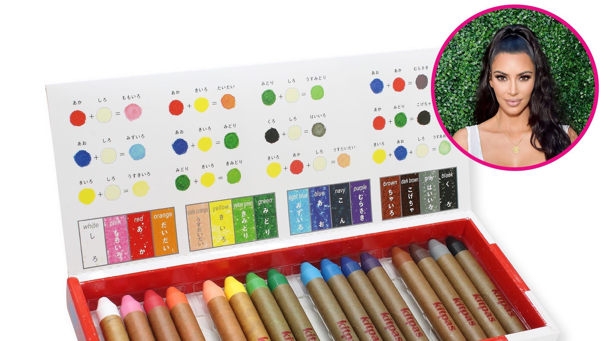 Kitpas Crayons kim kardashian back to school buzzometer