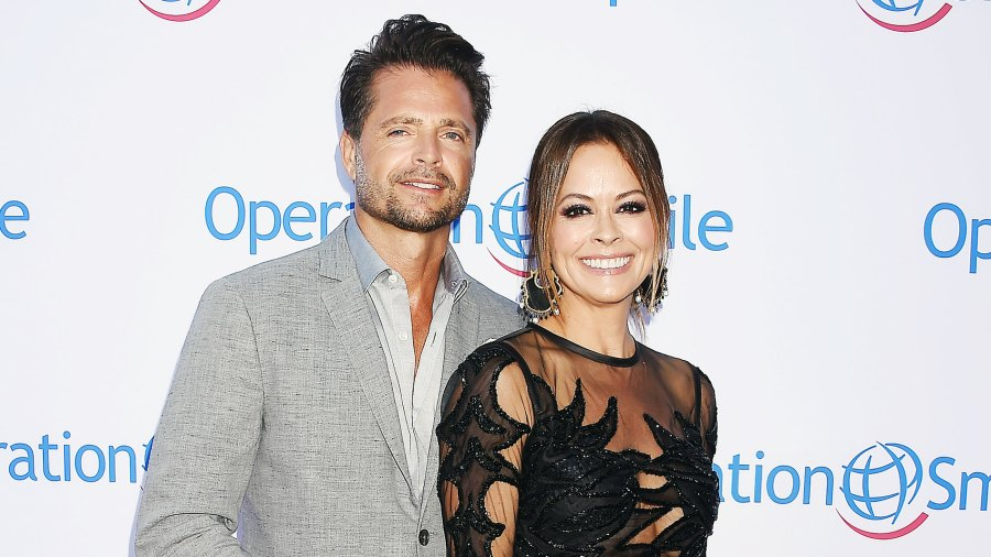David Charvet Brooke Burke All Good Amid Divorce