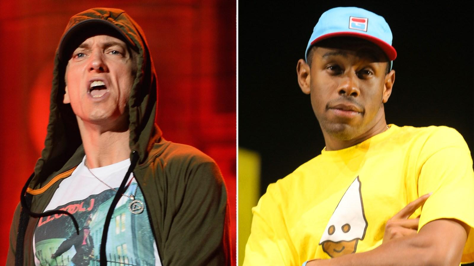 Eminem Slammed for Homophobic Diss About Tyler, The Creator