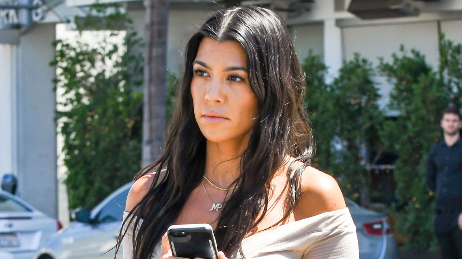 849cf2bcbb67a Kourtney Kardashian Seemingly Shades Kim With Fan Diss Track   No One  Recognizes Kim Until She s Undressed