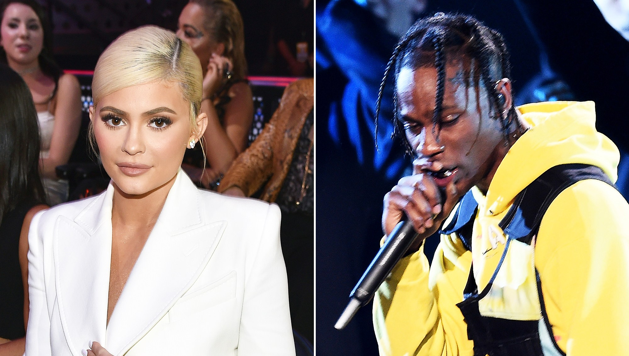 Kylie Jenner Travis Scott Performance VMAs 2018