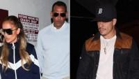 Jennifer Lopez, Alex Rodriguez and Casper Smart