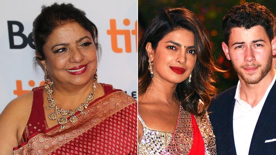 Priyanka Chopra's Mom Gushes Over Her Daughter's Engagement to Nick Jonas: 'It's All Destiny'