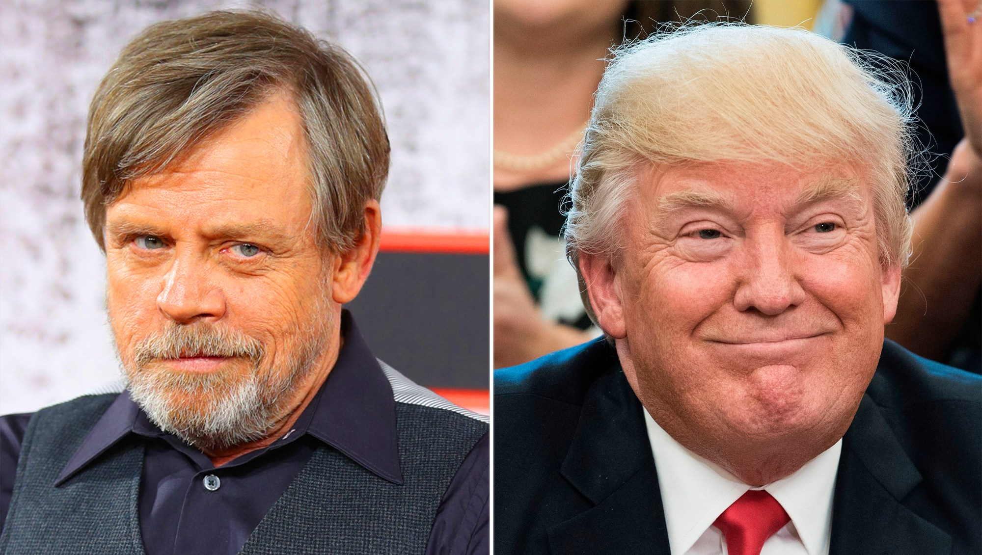 Mark Hamill Strikes Back at Trump's Space Force Idea With Star Wars-Inspired Tweet