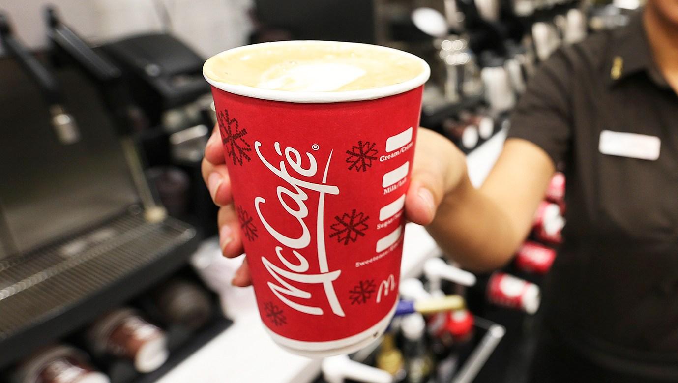 McDonald's Latte Cleaning Fluid