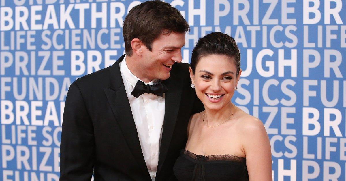 The hot romance of Ashton Kutcher and Mila Kunis