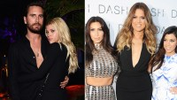 Sofia Richie, Scott Disick and the Kardashian sisters.