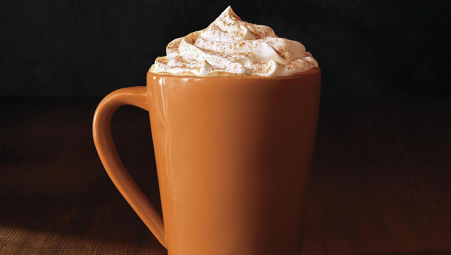 Starbucks' seasonal Pumpkin Spice Latte.