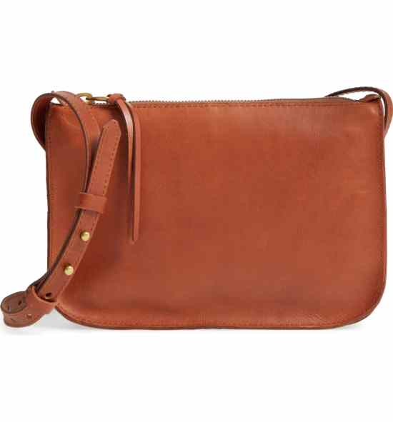 brown madewell bag