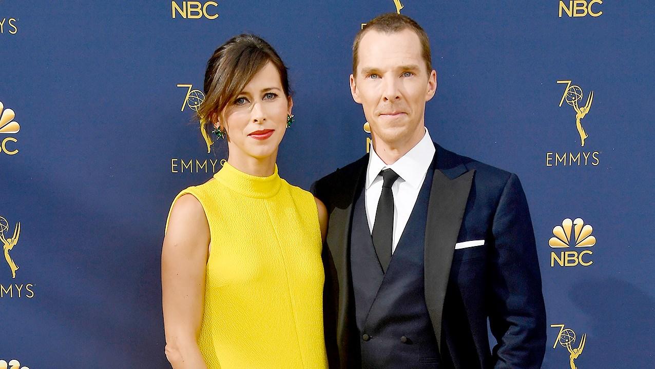 Benedict-Cumberbatch-Sophie-Hunter-pregnant-emmys-2018-2