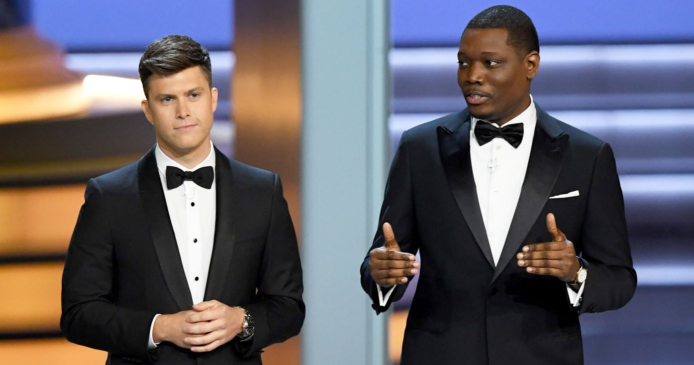 Image result for emmy 2018 colin and michael