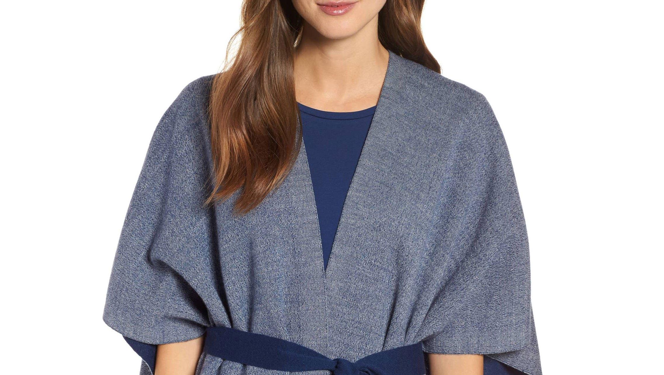 Eileen-Fisher-Merino-Wool-Sweater-Poncho