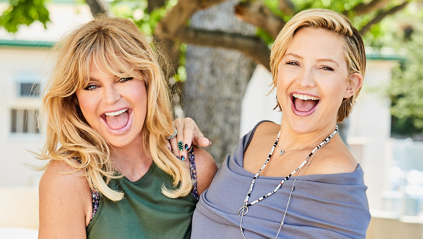 Goldie Hawn and Kate Hudson for Fabletics